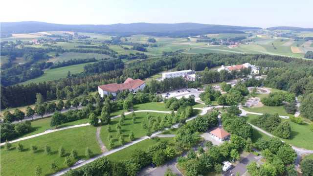 Kurpark-Vitalparcours Luftaufnahme Betzl