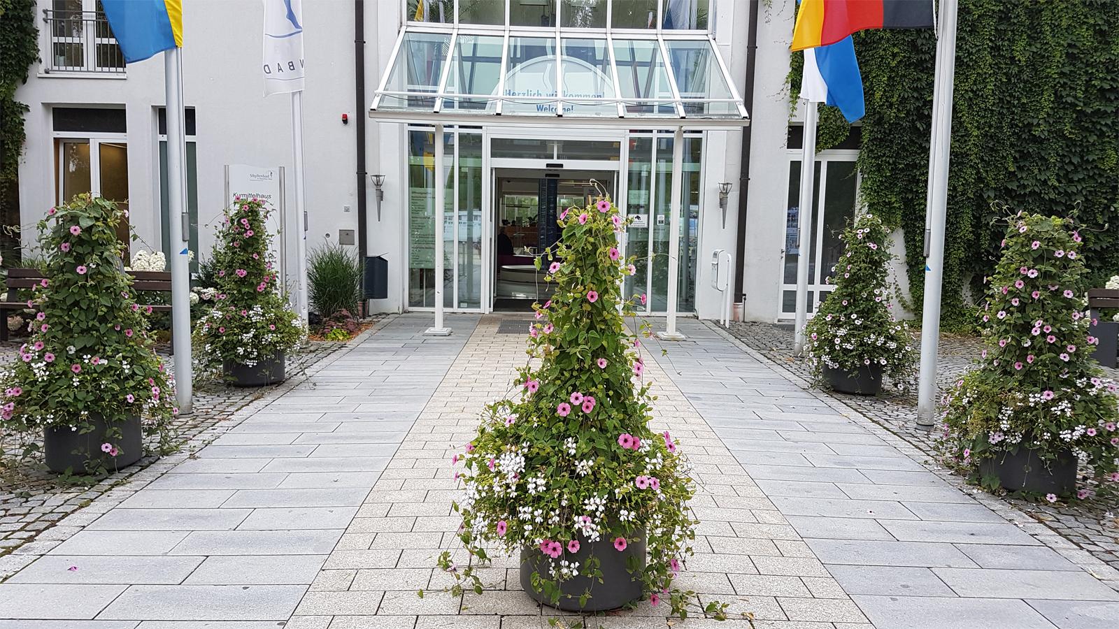 Eingangsbereich Sibyllenbad 2019
