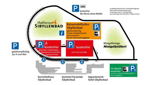Parkplatzübersicht