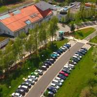 Parkplatz mit barrierefreiem Zugang zum Sibyllenba