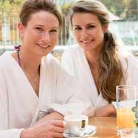 Teehaus im Wellnessbereich des Sibyllenbades
