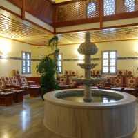 maurische Ruheoase im orientalischen BadeTempel Sibyllenbad