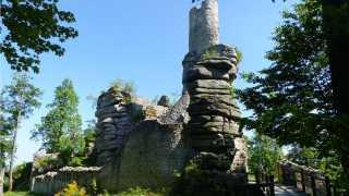 Burgruine Weißenstein im Steinwald