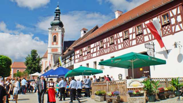 Marktplatz Neualbenreuth-Sibyllenbad