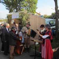 Musik und Stände auf dem Kartoffelfest in Neualbenreuth beim Sibyllenbad