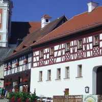 Marktplatz in Neualbenreuth