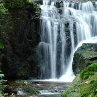 Motschall Wasserfall bei Neualbenreut-Sibyllenbad