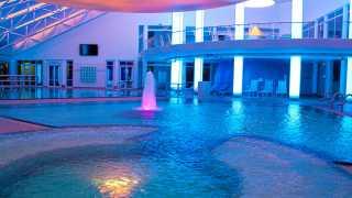 Sibyllenbader Badelandschaft mit Beleuchtung