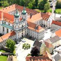 Luftaufnahme vom Kloster in Waldsassen