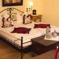 Zimmer in der Romantik-Pension Frank´n Hof in Neualbenreuth