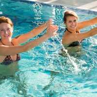 Wassergymnastik im Sibyllenbad