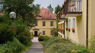 Außenansicht Schlosshotel Ernestgrün