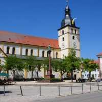 Kirchplatz Mitterteich