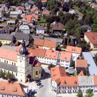 Luftaufnahme Marktplatz Mitterteich