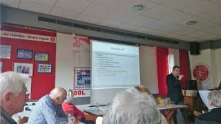 Vortrag bei der Restless legs RLS Selbsthilfegruppe in Passau