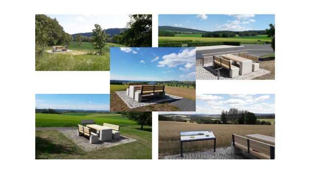 fünf Blickpunkte rund um Neualbenreuth