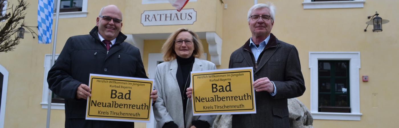 Neualbenreuth wurde Bad Neualbenreuth
